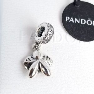 Pandora Jewelry - PANDORA Dangle Charm Orchid   Silver 925 Ale NWT